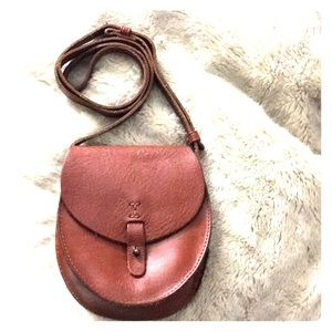 Lucky Brand Tan Leather Crossbody